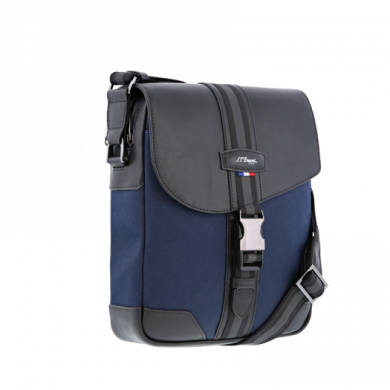 Чанта за през рамо с капак DÉFI MILLENIUM BLUE/CROSSBODY BAG