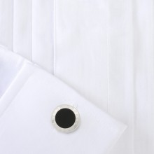 Ръкавели - Alfred Dunhill - AD Coin Onyx Cufflinks