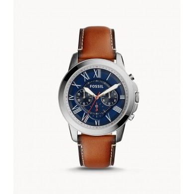 Grant Chronograph Light Brown Leather