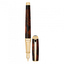 Писалка LINE D FOUNTAIN PEN / ATELIER BROWN