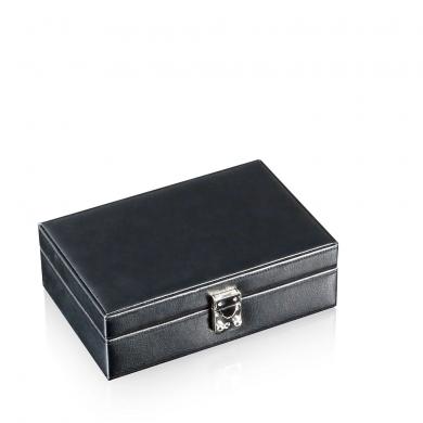 Кутия за часовници - Watch Box Solid 8 - Black