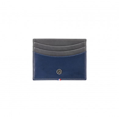 Калъф за карти LINE D / CREDIT CARDS HOLDER CREY & BLUE