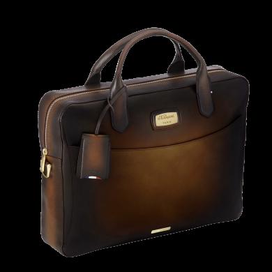 Чанта за документи ATELIER/DOCUMENT CASE TOBACCO BROWN