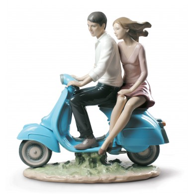 Порцеланова фигура - Riding with You - Couple Figurine