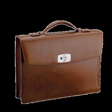 Бизнес куфар LINE D/ BRIEFCASE BROWN