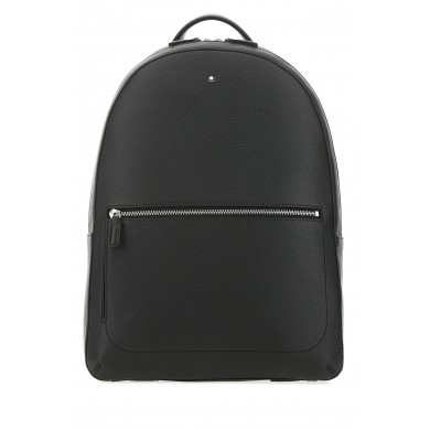 Раница - Black leather slim Meisterstuck backpack