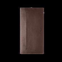 Висок портфейл LINE D SLIM/LONG WALLET  BROWNK&BLUE