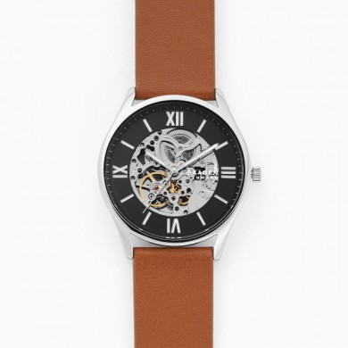 Holst Automatic Brown Leather