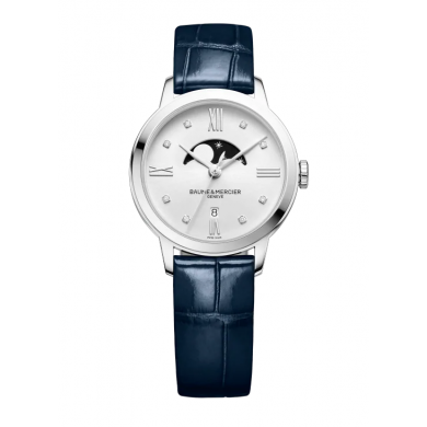 Classima MOA10329  - Dimond - set quartz watch with Moon - Phase