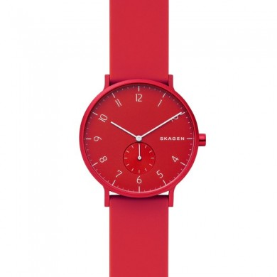 Aaren Kulor Red Silicone 41mm