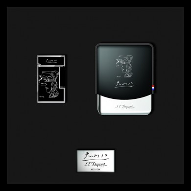 Сет S.T.DUPONT PABLO PICASSO LIMITED EDITION /Smoking Kit (Line 2 + Cigarette Case)