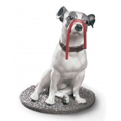 Порцеланова фигура – Jack Russel With Licorice – Dog Figurine