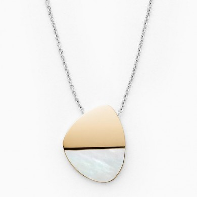Дамско колие Agnethe Two-Tone Mother-of-Pearl