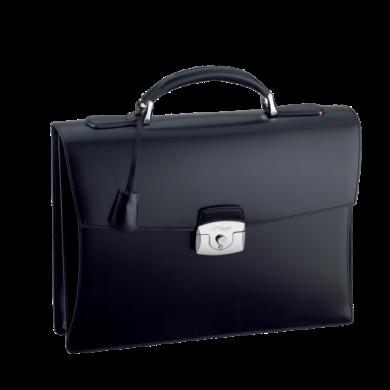 Бизнес куфар LINE D/ONE GUSSET BRIEFCASE BLACK