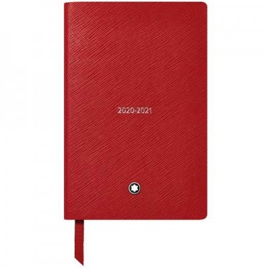 Тефтер - #146 18-Month Weekly Diaries 20-21, Red