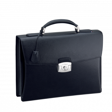 Бизнес куфар CONTRASTE/ONE GUSSET BRIEFCASE BLACK