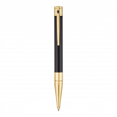 Химикалка D-INITIAL BALL POINT/ BLACK&GOLD