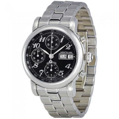 Montblanc Star XL Black Dial Chronograph Automatic