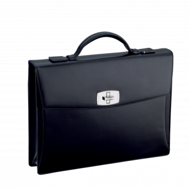 Бизнес куфар LINE D/TOURNIQUET BRIEFCASE BLACK