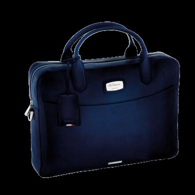 Чанта за документи ATELIER/DOCUMENT HOLDER- BLUE & PALLADIUM FINISHES