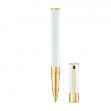 Ролер D-INITIAL ROLLER BALL  / WHITE&GOLD