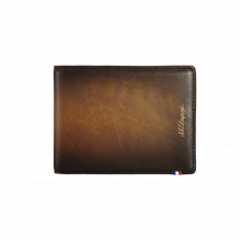Портфейл ATELIER/WALLET 6 CREDIT CARDS  - TOBACCO BROWN