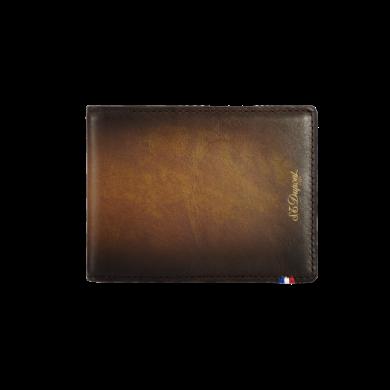 Портфейл ATELIER/WALLET 6 CREDIT CARDS  - TOBACCO BROWN