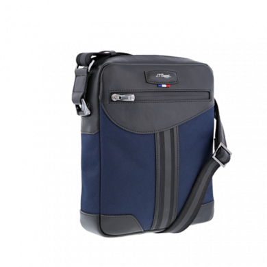 Чанта за през рамо DÉFI MILLENIUM BLUE ZIPPERED BAG
