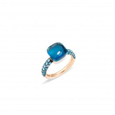 Пръстен - Nudo Deep Blue Ring