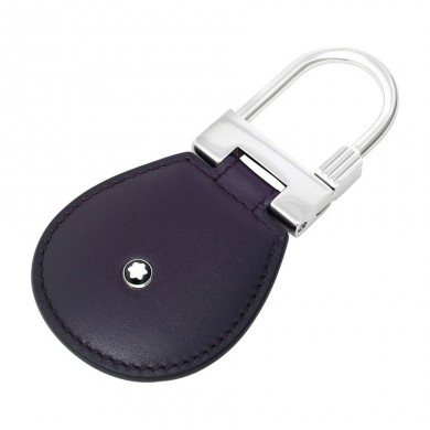 Ключодържател - Montblanc Meisterstuck Dark Purple Leather Key Fob