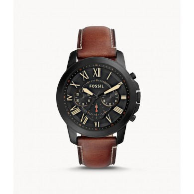 Grant Chronograph Luggage Leather