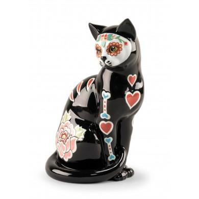 Порцеланова фигура –Catrina Cat Figurine