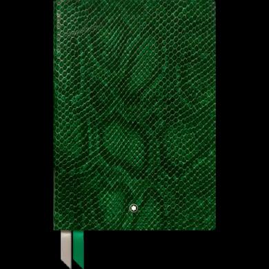 Тефтер Notebook #146 Python Print, Peacock Green