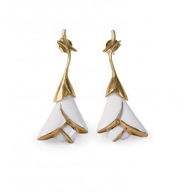 Обеци - Heliconia - Short Earrings