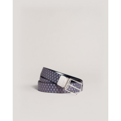 Колан - Alfred Dunhill - Reversible Engine Turn Luggage Canvas Belt