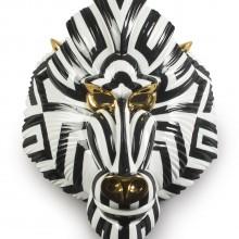 Порцеланова фигура – Mandril Mask – Black and Gold