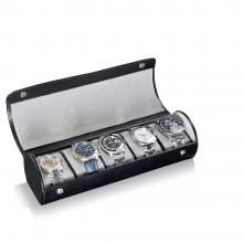 Кутия за часовници - Watch Roll James 5 - Black