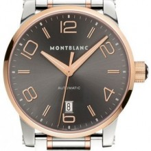 Montblanc TimeWalker Automatic Steel Gold 39 mm