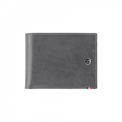 Портфейл LINE D/BILLFOLD 6 CREDIT CARDS GREY & BLUE