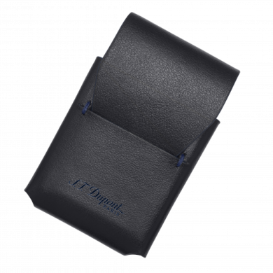 Калъф за запалка / LINE 2 LIGHTER CASE LINE D SLIM BLACK-BLUE