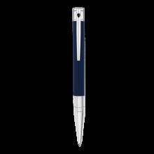 Химикалка D-INITIAL BALL POINT/ BLUE&CHROME