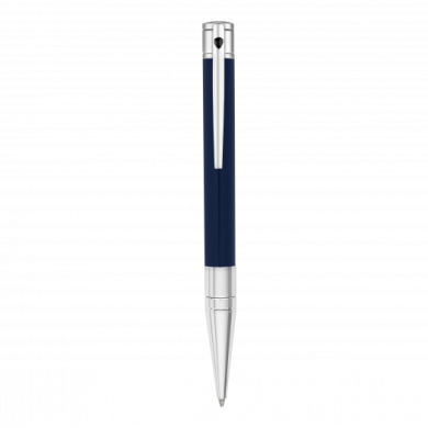 Химикалка D-INITIAL BALL POINT/ BLUE&CHROME