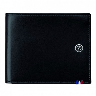 Портфейл LINE D /BILLFOLD 8 CREDIT CARDS BLACK