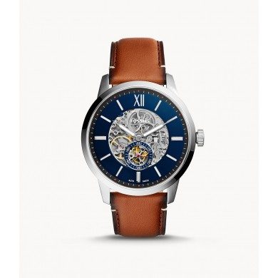 Townsman 48mm Automatic Light Brown Leather