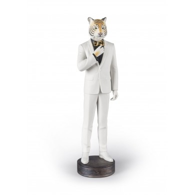 Порцеланова фигура – Tiger Man Figurine