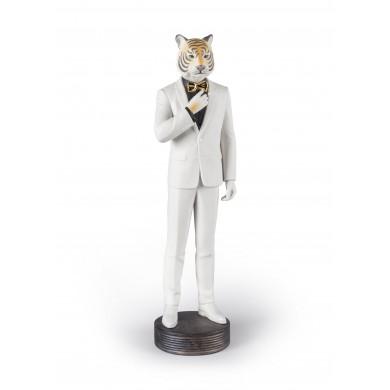 Порцеланова фигура – Tiger Man Figurine