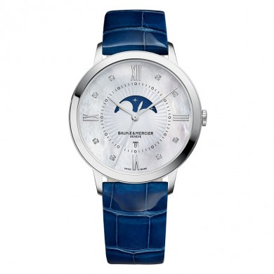 Classima MOA10226 - Dimond - set quartz watch with Moon - Phase
