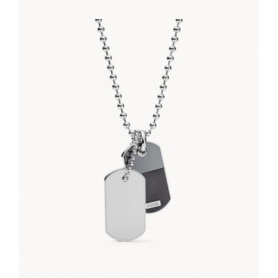 Мъжко колие Vintage Casual Duo Dog Tag Stainless Steel