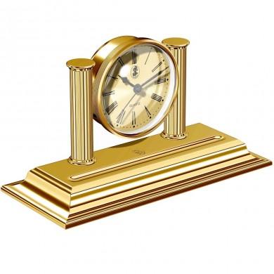 Настолен часовник с място за пишещ инструмент 23 KT Gold