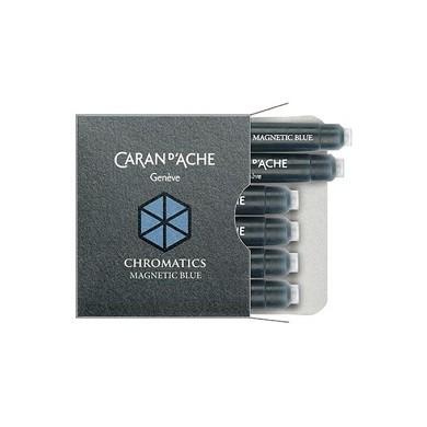 Патрончета за писалка CHROMATIC Magnetic Blue